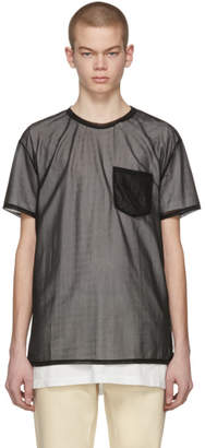 Acne Studios Black Batumy Plain T-Shirt