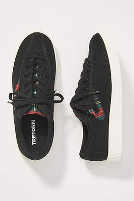 Tretorn Plaid Low-Top Sneakers