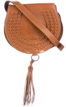 Chloé Whipstitch Small Marcie Saddle Crossbody Bag w/ Tags