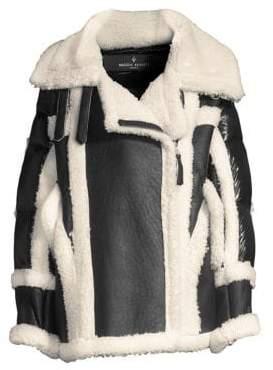Nicole Benisti Montaigne Sheepskin Puffer Jacket