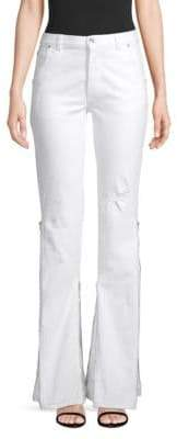 Faith Connexion High-Waist Flared Denim Jeans