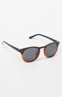 Pacsun Growler Round Two-Tone Sunglasses