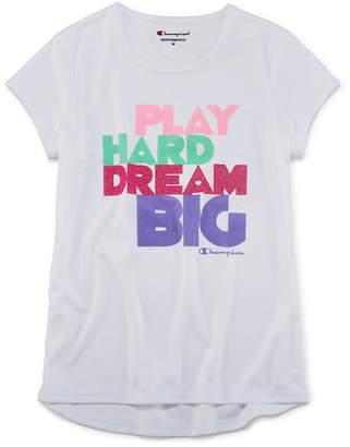 Champion Graphic T-Shirt-Big Kid Girls