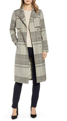 c40340c614c6 Ted Baker Buckle Cuff Check Trench Coat