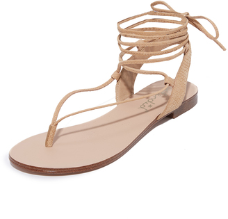 Splendid Candee Lace Up Sandals $108 thestylecure.com