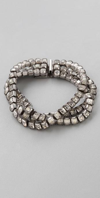 Made Her Think Rhinestone Bracelet