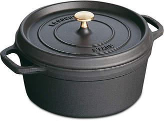 Staub Cast Iron 5.5-Qt. Round Cocotte
