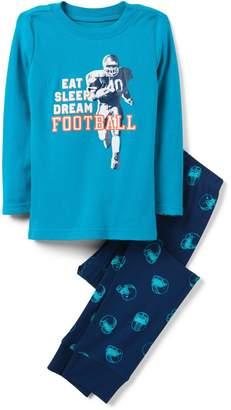 Crazy 8 Crazy8 Football 2-Piece Pajama Set