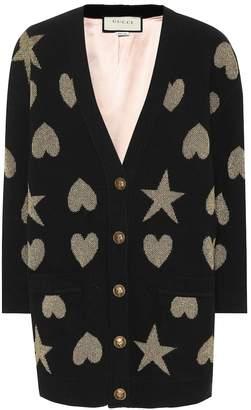 Gucci Wool-blend cardigan