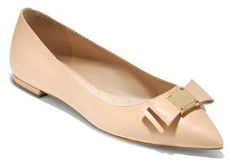 Cole Haan Tali Bow Skimmer Flat