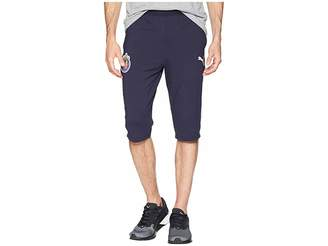 Puma Chivas 3/4 Training Zip Pants with Two Side Pockets Men's Capri
