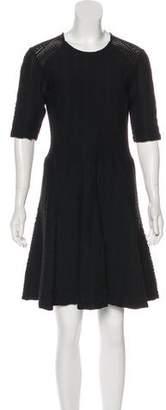 Rag & Bone A-Line Textured Dress