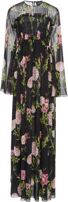 Giambattista Valli Floral-Print Silk-Chiffon Maxi Dress