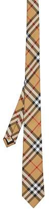 Burberry Maston Checked Silk Skinny Tie