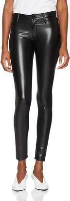 James Jeans Women's Twiggy Dancer Leatherette pants