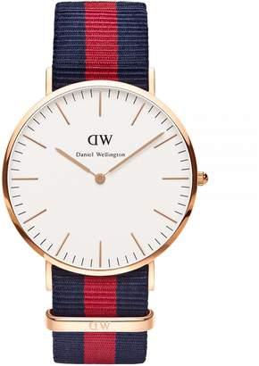 Daniel Wellington Oxford NATO Strap Goldplated Watch
