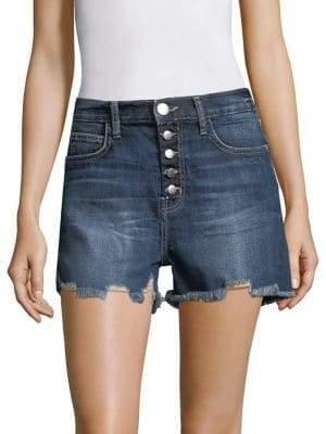 The Ultra High-Waist Denim Shorts