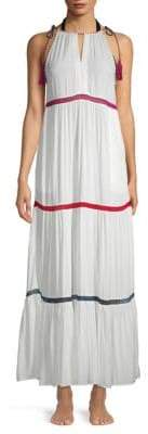 Tiered Maxi Coverup
