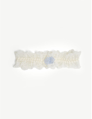 Aubade L'amour lace butterfly garter