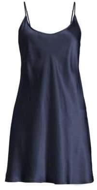 La Perla Short Sleeveless Silk Chemise