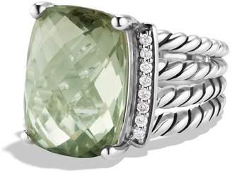 David Yurman 'Wheaton' Ring with Semiprecious Stone & Diamonds