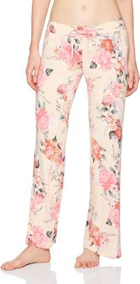 PJ Salvage Women's Rosy Outlook Pajama Pant