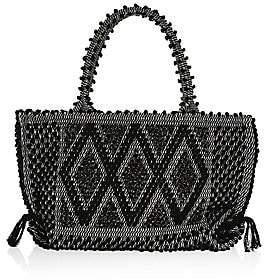 Antonello Tedde Women's Medium Capriccioli Rombi Knit Tote Bag