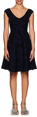 Zac Posen Women's Jacquard Fit & Flare Dress
