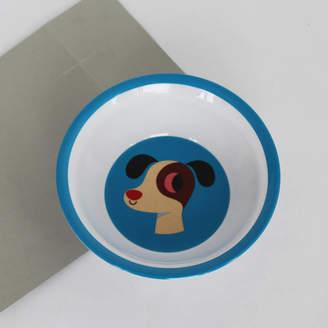 Posh Totty Designs Interiors Vintage Dog Melamine Bowl