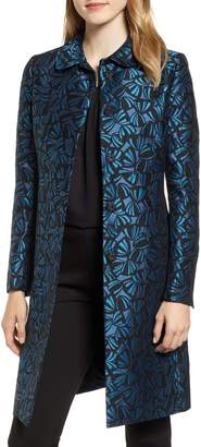 Anne Klein Windy Petals Jacquard Jacket