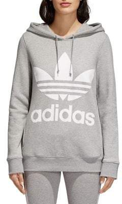 adidas Trefoil Adicolor Cotton French Terry Hoodie