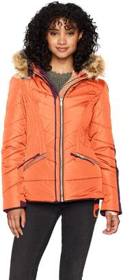 Celebrity Pink CelebrityPink Women's Hooded Puffer Jacket