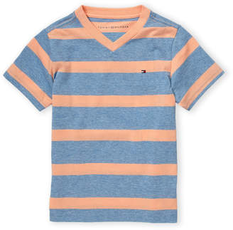Tommy Hilfiger Boys 4-7) Retro Stripe Short Sleeve Tee