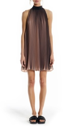 Women's Kendall + Kylie Pleated Trapeze Dress $265 thestylecure.com
