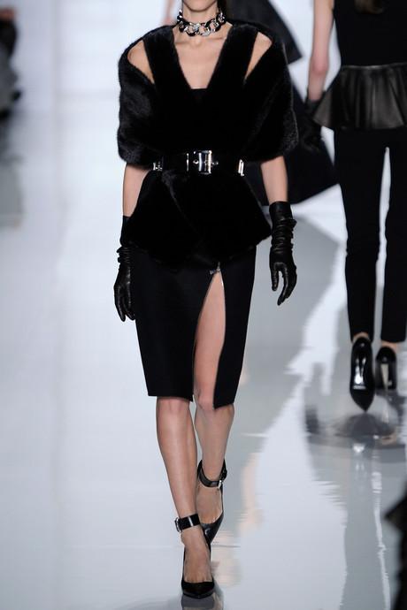 Michael Kors Zipped felted-wool pencil skirt
