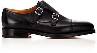 John Lobb Men's William Monk Shoes - Black