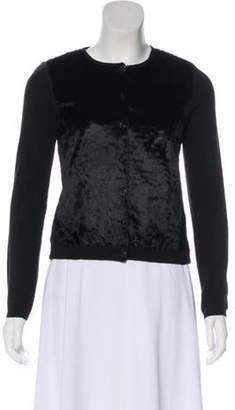 Blumarine Button-Up Cardigan Black Button-Up Cardigan