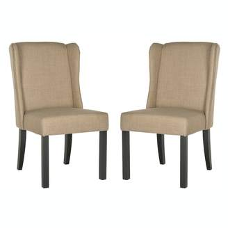 ... Safavieh 2 Piece Hayden Wingback Chair Set