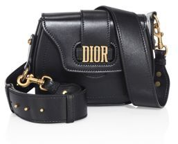 Dior Medium D-Fence Leather Saddle Bag