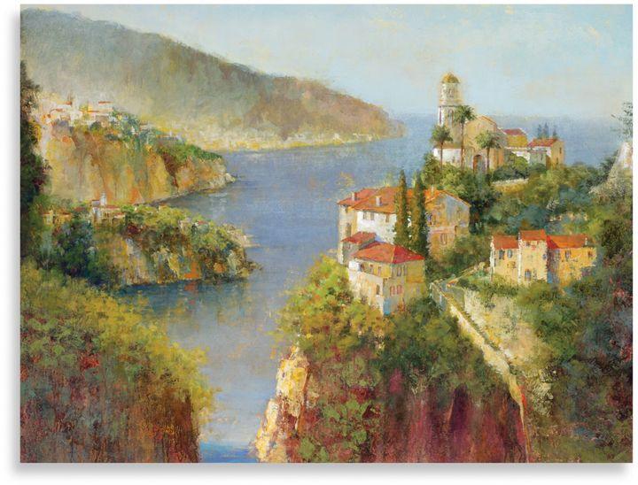 "Bed Bath & BeyondMichael Longo ""Amalfi Coast"" Canvas Print"