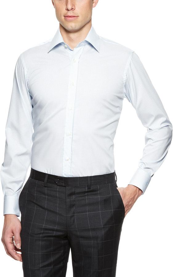 Yves Saint Laurent Check Dress Shirt
