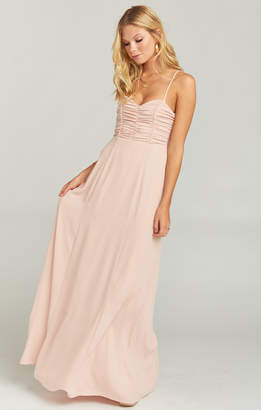 63ec051484cf Show Me Your Mumu Bonbon Strapless Dress ~ Dusty Blush Crisp