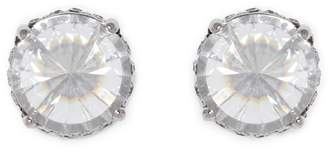 Vince Camuto Silvertone Rivoli Stud Earrings
