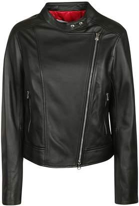 Calvin Klein Zip-up Biker Jacket
