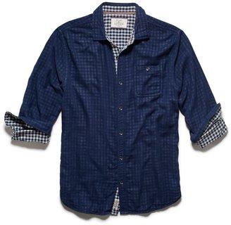 FLAG & ANTHEM - Men's Simpson Shirt - Blue