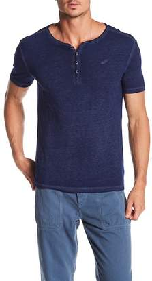 William Rast Short Sleeve Solid Henley