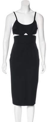 Victoria Beckham Wool Midi Dress w/ Tags