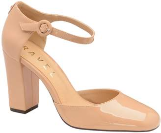 Next Womens Ravel Leather Block Heel