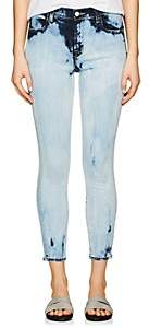 J Brand WOMEN'S ALANA HIGH-RISE CROP SKINNY JEANS-BLUE SIZE 27