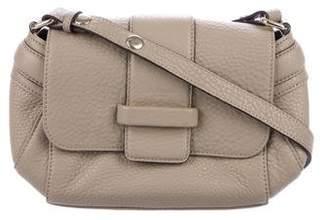 LK Bennett Grained Leather Flap Bag